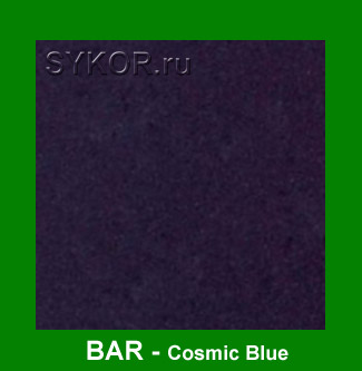 BAR Cosmic Blue