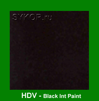HDV Black Int Paint