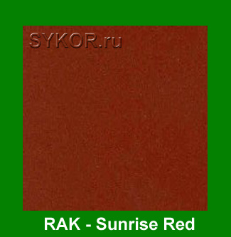 RAK Sunrise Red